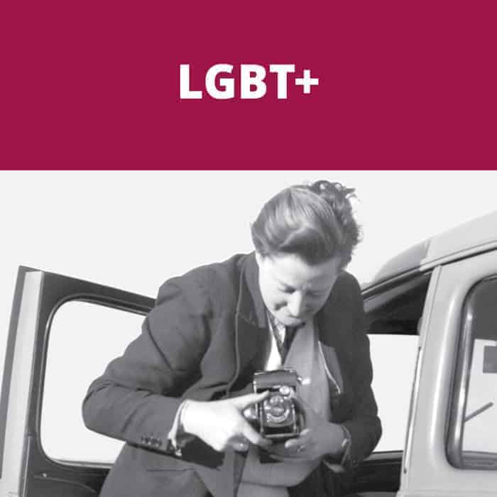 Book catagory header image for LBGT+
